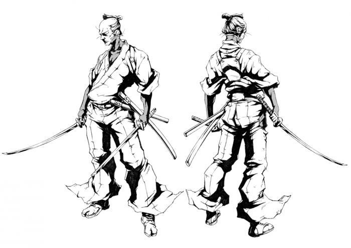 Resultado de imagen para afro samurai gun